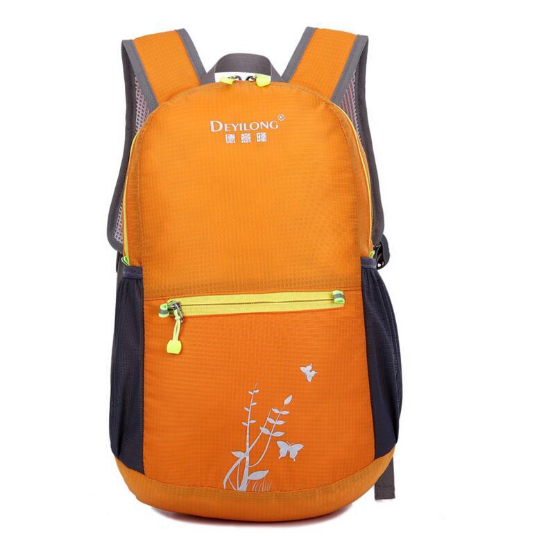Plegable ultraligero bolsa de deporte mochila mujer de los hombres de ocio Al Ai