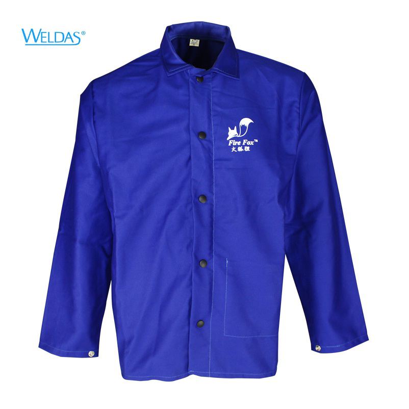 FR Cotton Welding Jackets Fire Resistant Cotton Coverall Sweat Absorbing Breathable Flame Resistant Work Clothing water absorbing oil absorbing cleaning cloth