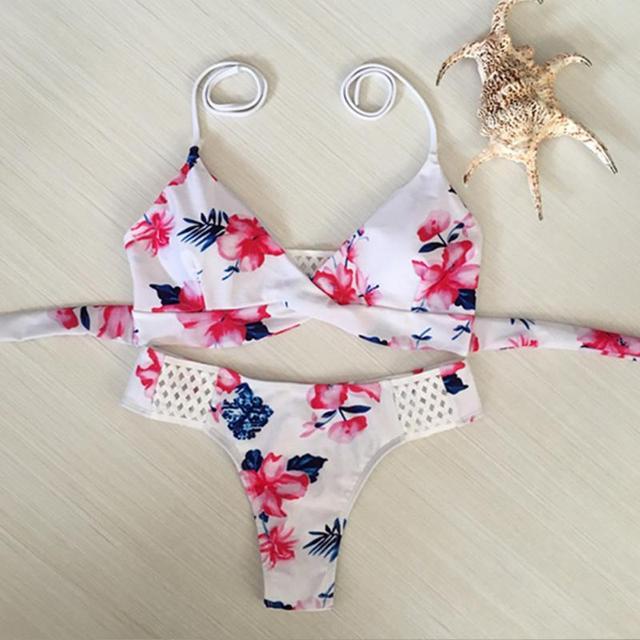 Flowers Bikini Swimwear