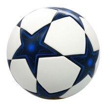 Высокое Качество Лиги чемпионов официальный Футбол материал мяча PU профессионального конкурса поезд Прочный Футбольный Мяч, Размер 5