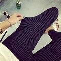 Moda de Nova Verão Elegante Desgaste do Trabalho OL das Mulheres Magro Estiramento Calças Lápis Calças Leggings Para As Mulheres/Feminino Mais tamanho XL-4XL