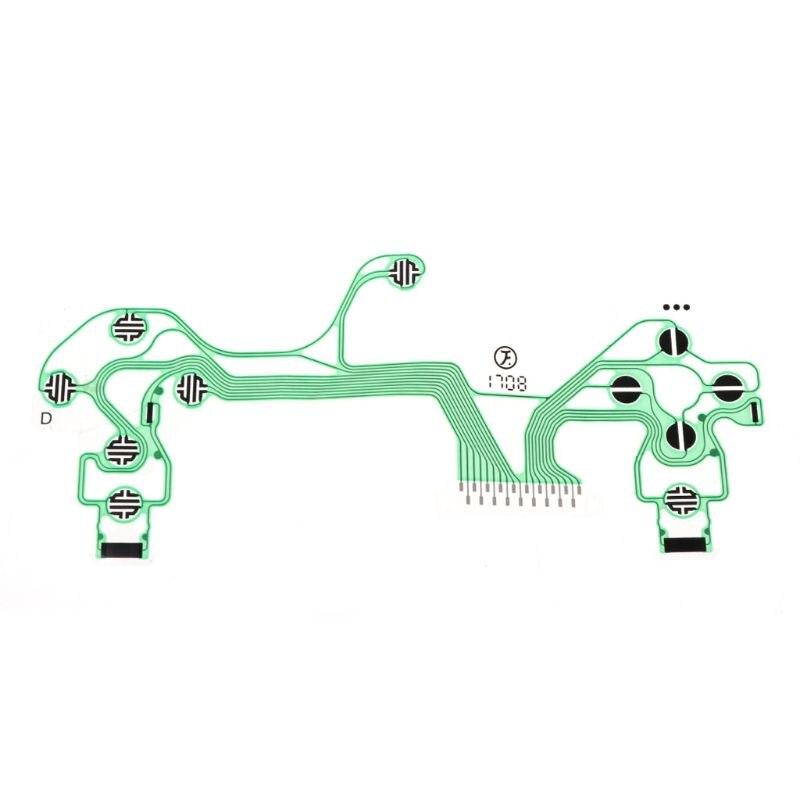 EnergéTico Controlador Conductivo Película Teclado Flex Cable Pcb Jds-040 Delgado Placa De Circuito Reemplazo Botones Cinta Para Sony Playstation4 Ps4