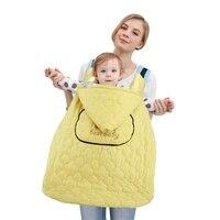 BEST BABY New BABY Carrier Cloak Windproof Baby Blanket Warm Infant Hoodie Cloak Backpack Carrier Sling