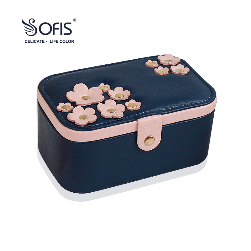 SOFIS Cherry Blossom jewelry box jewelry packaging Graduation gift jhopt 30x 60x led lights twins jewelry appraisal magnifier jade jewelry gift box gift packaging