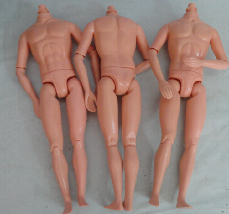 14 Joints 1//6 Naked Doll Body For  Doll/'s DIY Naked Male Doll BodyToy#