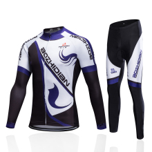 цены 2017 New Winter Men Cycling Clothing Set Thermal Fleece Cycling Jersey Long Sleeve Mtb Ropa Ciclismo Hombre Bike Cycling Clothes