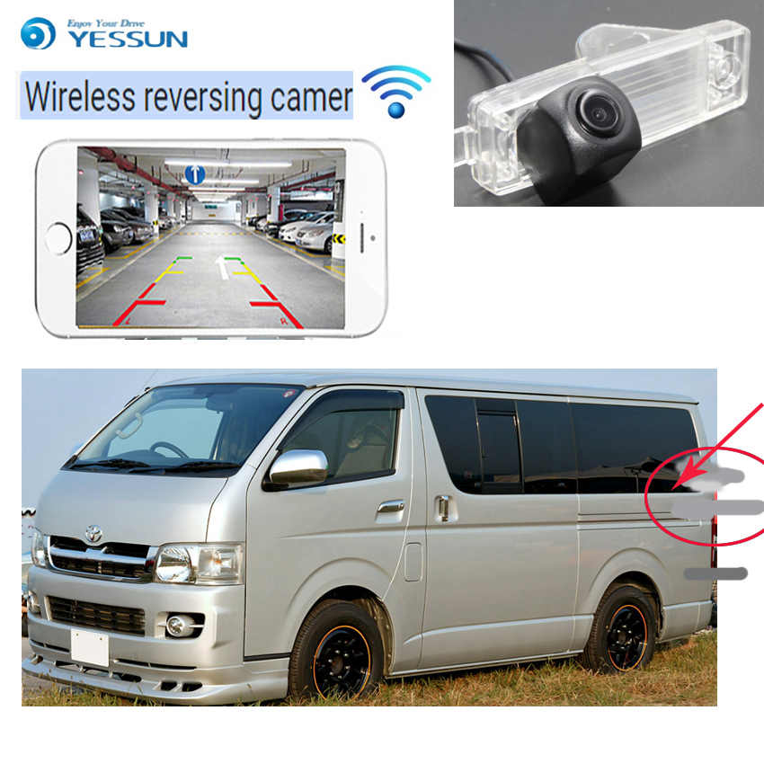 yessun for toyota hiace h200 for hiace awing 2004~2014 car hd new ccd night