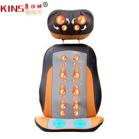 220v Free Shipping Deluxe HOME&OFFICE Massage Device Neck Massage Pad Full body Massage Heated Cushion Massage Chair