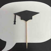 Graduation Style Cupcake Toppers