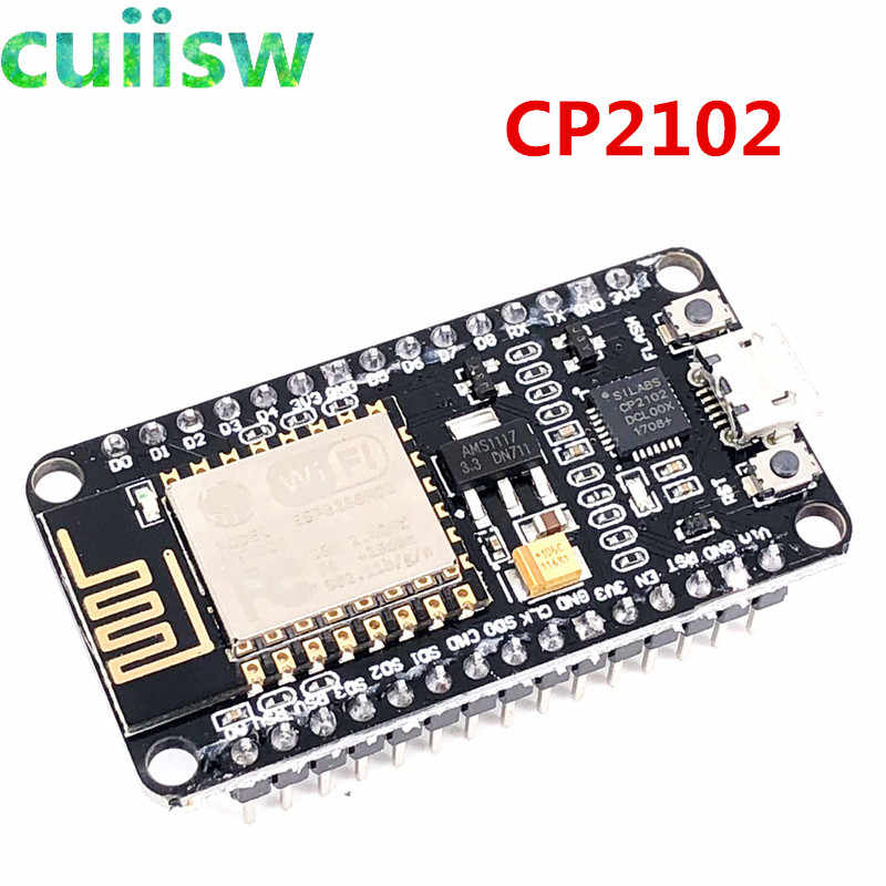 ESP8266 CH340G NodeMcu V3 Lua WIFI ไร้สายโมดูลเชื่อมต่อบอร์ด ESP-12E Micro USB ESP8266 CP2102 จากการลงทุน L293D