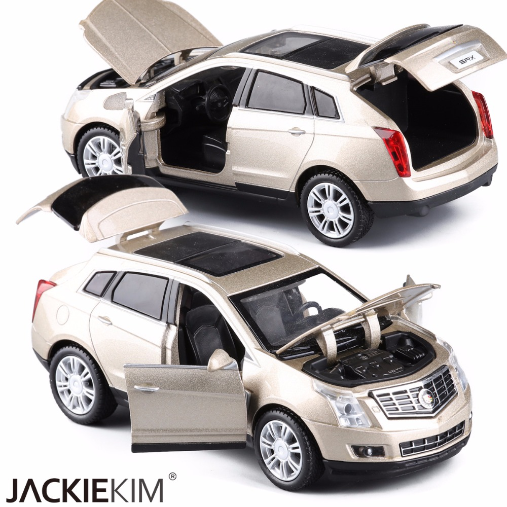 High Simulation Exquisite Diecasts Toy Vehicles Car Styling Cadillac SRX Off-Road 1:32 A ...