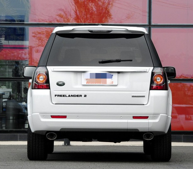 For Land Rover Freelander 2 Spoiler High quality ABS material Trunk Wing Primer and baking 2007 2008 2009 2010 2010 2012 2013