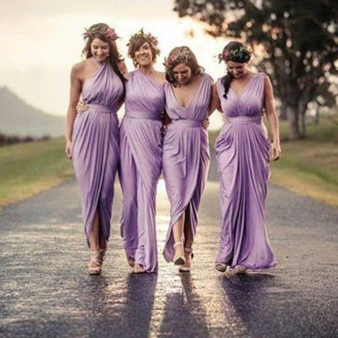 Online Get Cheap Vintage Purple Bridesmaid Dresses -Aliexpress.com ...