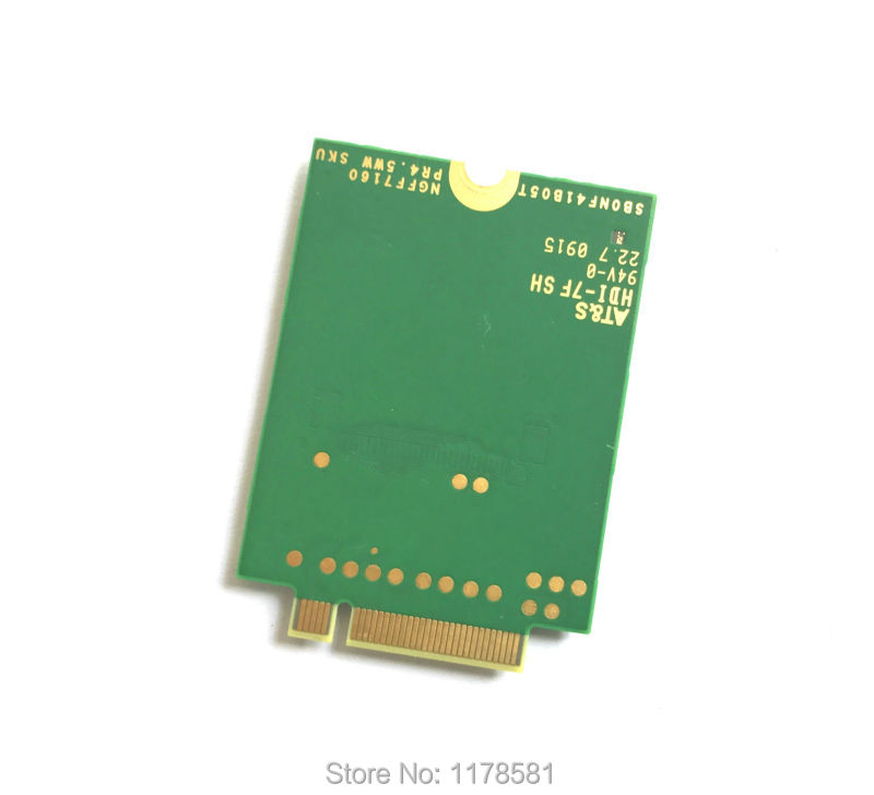 Купить с кэшбэком EM7345 4G Card for T440 T540P W540 L440 X240 X1 Carbon 4G Module EM7345 NGFF M.2 WWAN Card 04X6014 4G LTE/HSPA+ 42Mbps Card