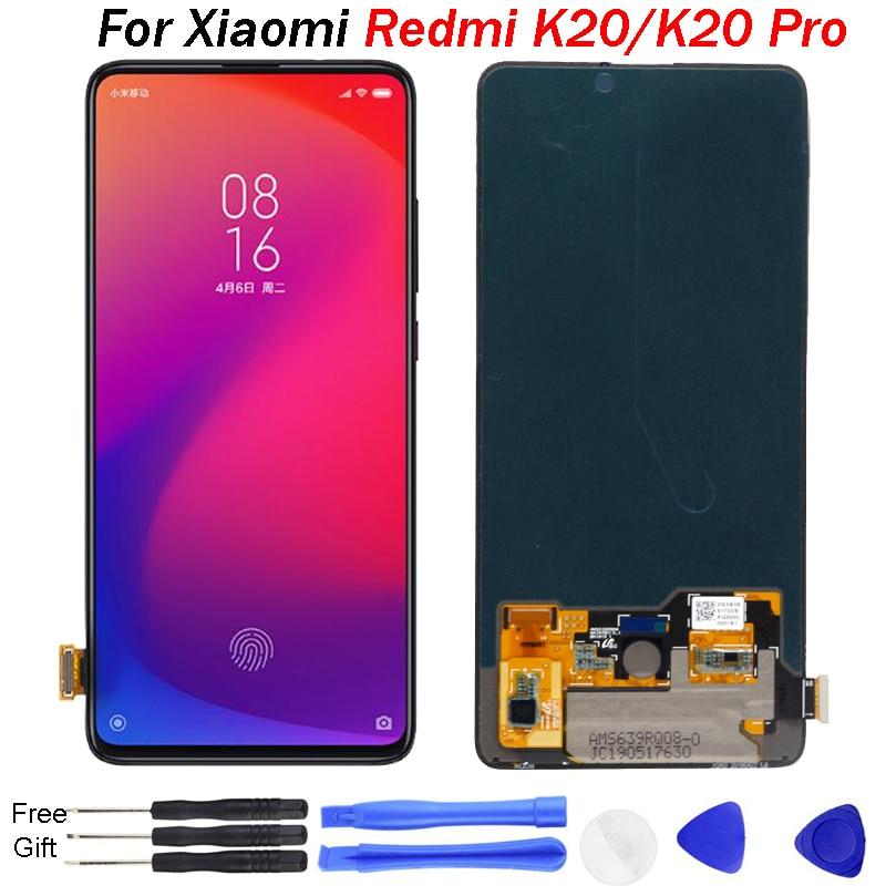 AMOLED Original pour Xiao mi rouge mi K20 LCD affichage K20 Pro écran mi 9T Pro écran tactile numériseur assemblée mi 9T LCD