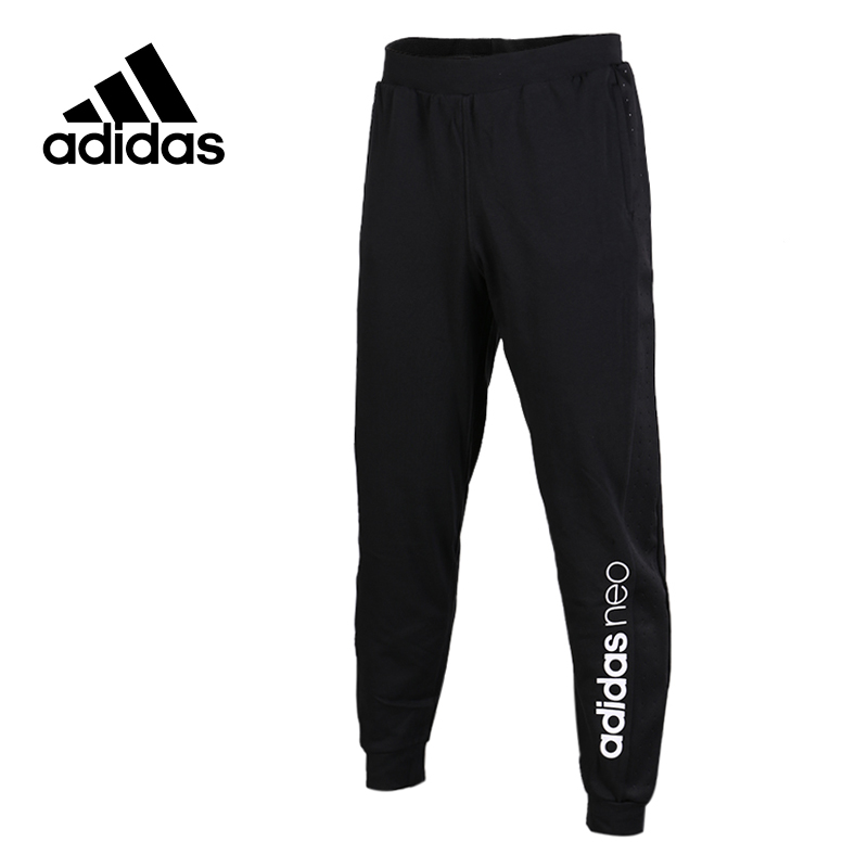 Adidas Original New Arrival Official NEO Men's Full Length Training Pants Sportswear BR8533 original new arrival official adidas women s tight elastic training black pants sportswear