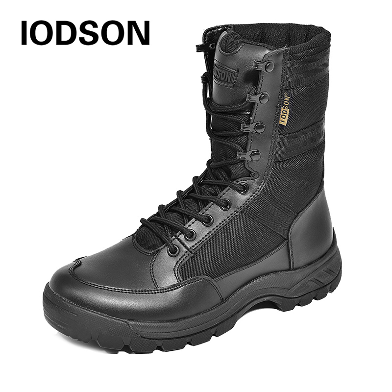 Winter Thicker Desert Shoes Men's Special Force Military Tactical Boots Safety Work Combat Ankle Shoes Waterproof Snow Boots 837