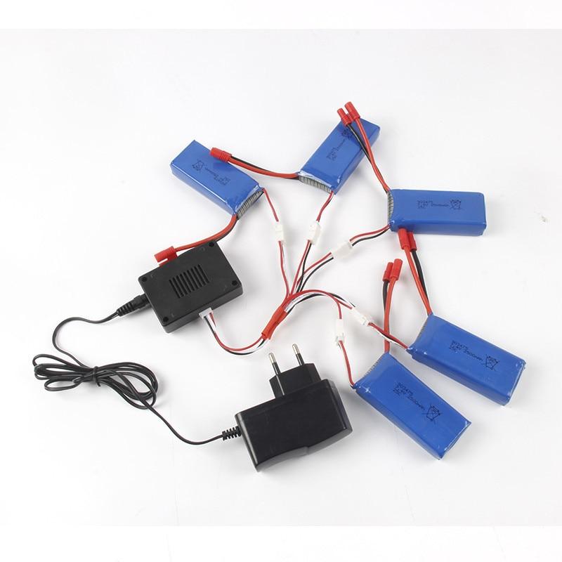 High Quality 7.4V 2500mAh Li-Polymer Battery + Balance Charge For X8C/X8W/X8G/X8HC/X8HW/X8HG Wholesale Dorp Shipping