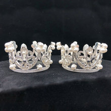 2019 New wonderful Small Girls Crown Tiara Hair Combs gorgeous Crystal Party Mini Wedding Accessories Jewelry A35