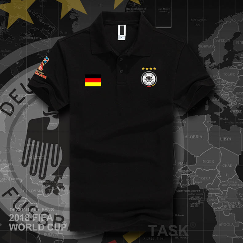 new style 050aa 1ebda 2018 World Cup France National Team Won The Championship POLO Short-Sleeve  Shirt Germany Argentina ...