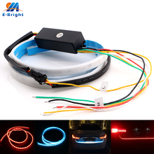 YM E-Bright 2pcs 12V Canbus Dynamic Streamer Car Backup Tail Luggage Compartment Lamp Strip Ice Blue/Red White/Red Free Shipping