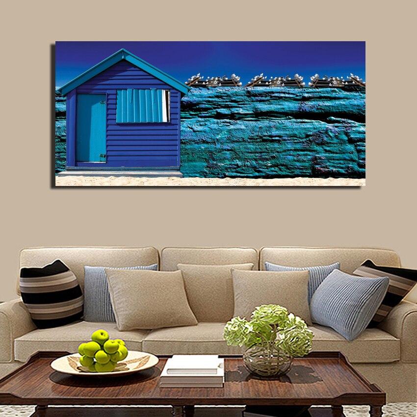 Unframed Mediterranean Style Home Decoration Hd Printed