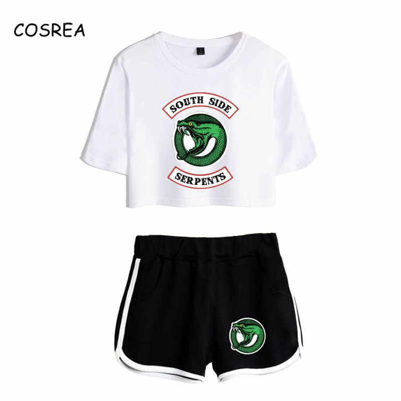 Summer South Side Serpents Riverdale T Shirt Short Running Plus Size Fashion Tee Southside Serpents Riverdale Riverdale Gifts