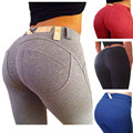 2016 Весна Осень Сексуальная Хип Тонкий джинсы женские сплошной цвет Карманные Брюки мода женские Джинсовые Брюки плюс размер S-XL