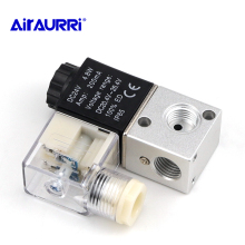 2Position Pneumatic Electric Solenoid Valve Control 3V1-M5 Air 3V1-08 1/4BSP 3V1-06 1/8DC12V/24V AC24V/36V/110V/220V/380V 3Way made in china pneumatic solenoid valve sy3220 3l m5