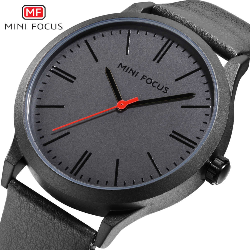MINIFOCUS montre-bracelet hommes Top marque de luxe célèbre homme horloge Quartz montre-bracelet Quartz-montre Relogio Masculino MF0058G. 04