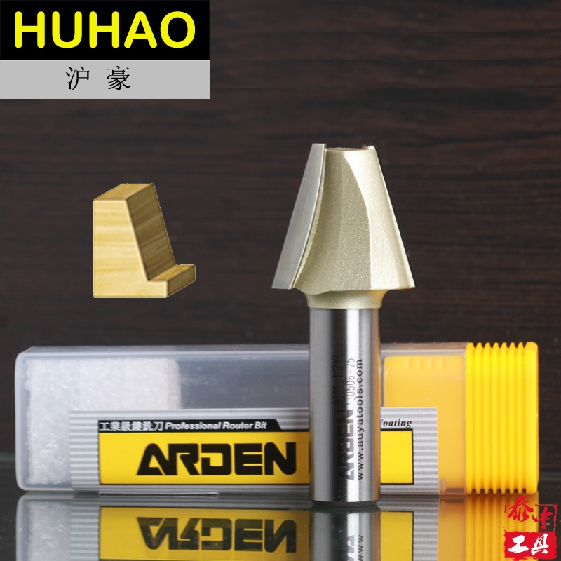 Woodworking Tool Tungsten Carbide Topmount 15 Degree Arden Router Bit - 1/2*1/2-12.7mm Shank - Arden A0309018 high grade carbide alloy 1 2 shank 2 1 4 dia bottom cleaning router bit woodworking milling cutter for mdf wood 55mm mayitr