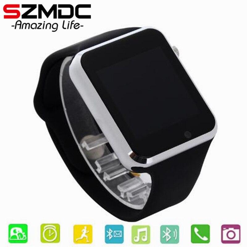 Kind Bluetooth Smart Uhr Mit Kamera Facebook Whatsapp Twitter Sync SMS Smartwatch Unterstützung SIM TF Karte Für IOS Android PK A1