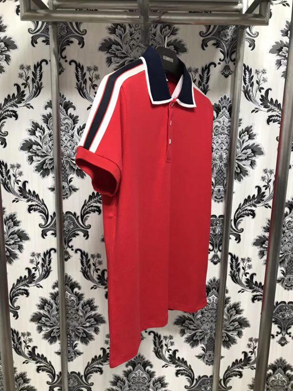 WW120839 Hot sale New Fashion 2018 Polo Shirts Popular Brand Fashion Design Party style Men's Clothing