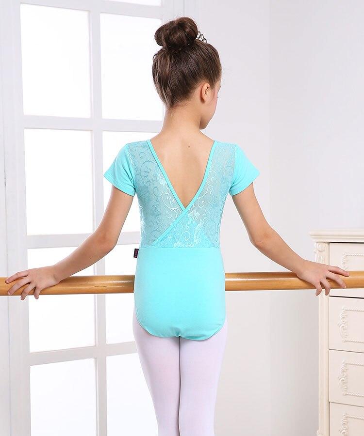 Lace Black Girl Ballerina Leotard Girl Ballet Dress For Children Girl Dance Clothing Kid Ballet Costumes For Girls Leotard Dance