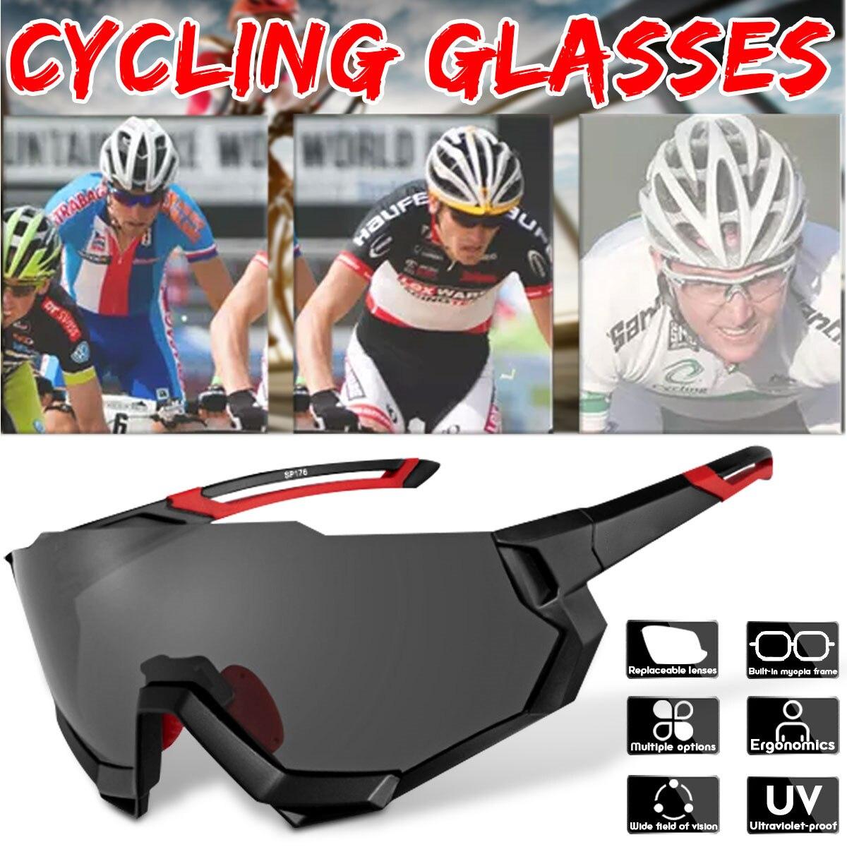 Lunettes de cyclisme polarisées vélo de montagne vélo de route lunettes de sport lunettes de soleil lunettes de cyclisme professionnel en plein air