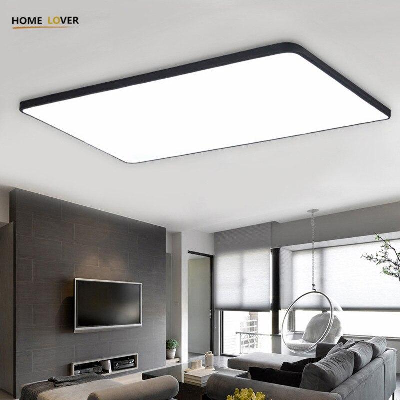 HomeLover Modern led ceiling lights for Living room Bedroom Kitchen ...