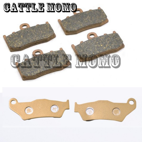 1 Set Motorcycle Brake Pads For BMW R1100S 00-03 R1150GS 01-04 R1150RT 00-04 R850RT 2006 motorcycle front & rear brake pads set esilla