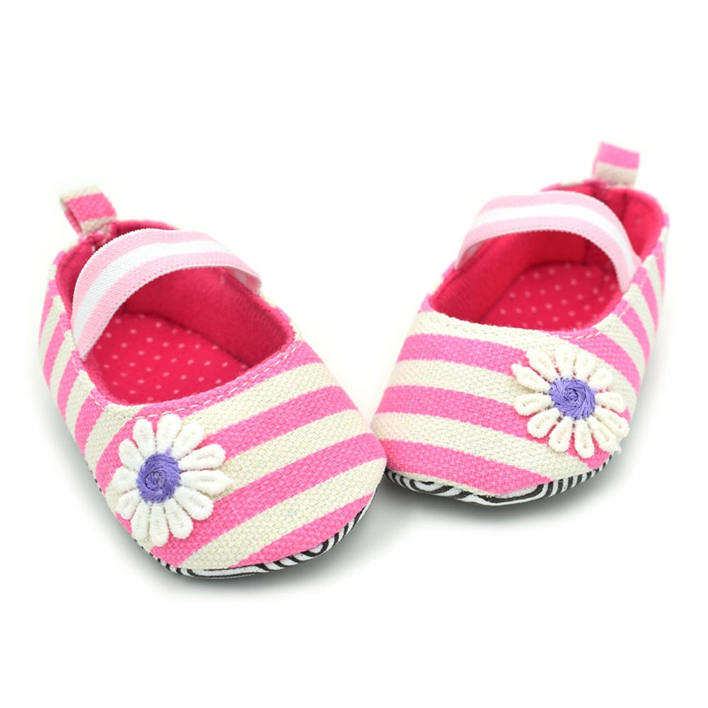 Newborn Toddlers Prewalker Boy Girl Striped First Walkers Footwear Infant Kids Casual Crib Shoes For 0-9 Months Baby @ZJF