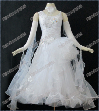 Modern Waltz Tango Ballroom Dance Dress, Smooth Ballroom Dress,Standard Ballroom Dress Girls B-0340