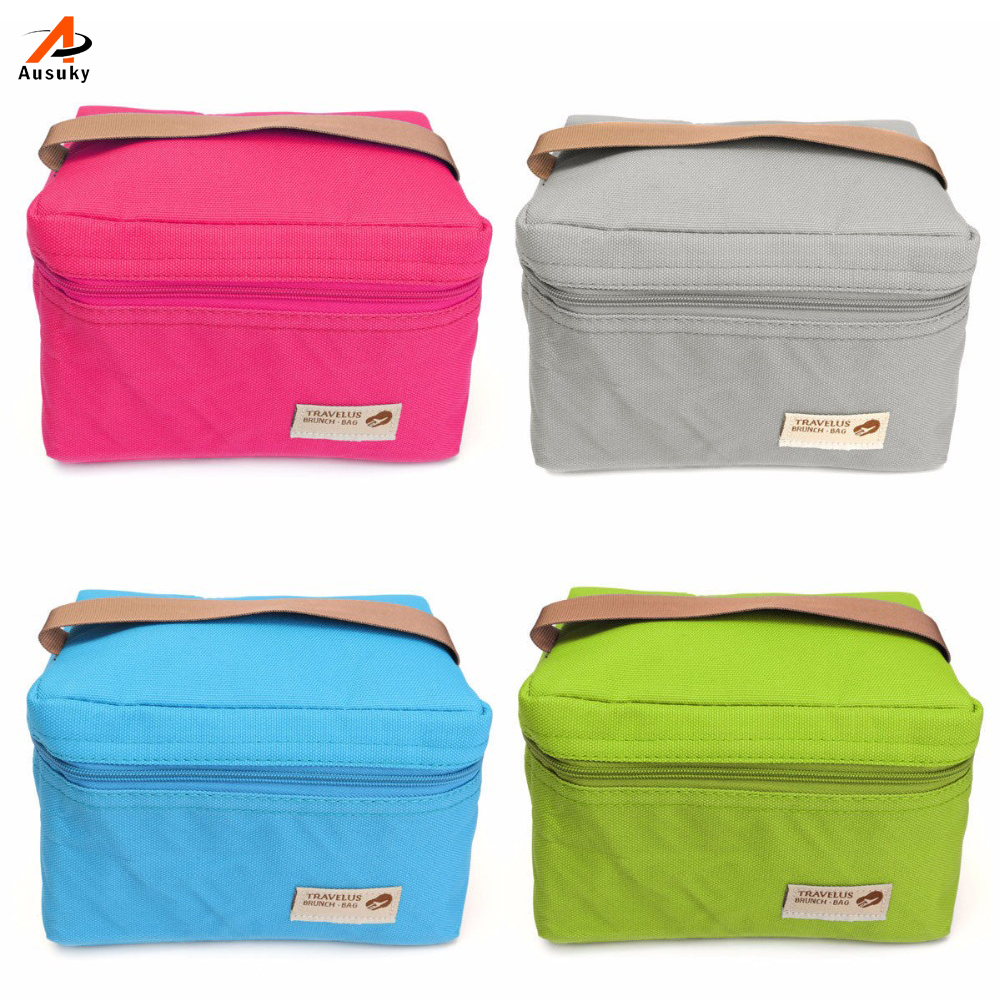 2019 popular almoço sacos cooler para mulheres crianças usado saco térmico lancheira comida picinic saco thermo