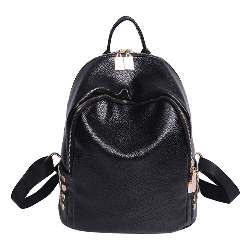 2019 Mini Backpack Women Korean Style PU Leather Shoulder Bag For Teenage Girls Multi Function Small Bagpack Female