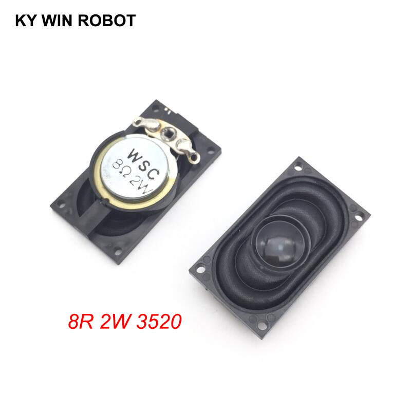 2PCS/Lot Notebook Speaker Horn 2W 8R 3520 2035 Loud Speaker 8 Ohms 2 Watt 8R 2W 35*20MM Thickness 8MM