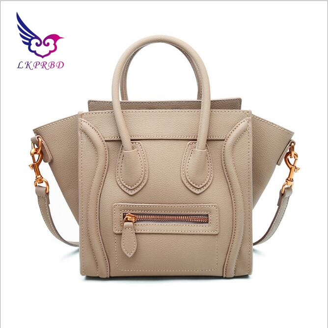 цена на New Fashion Women Crossbody Bag Female Leather Casual Shoulder Bag Brand Designer Handbag High Quality ladies Trapeze Bag
