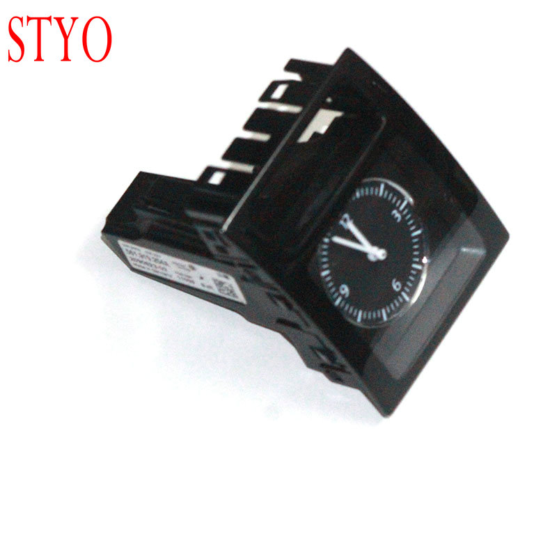 STYO Car Clock Dashboard Center Console Watch For VW Passat B7 561919204