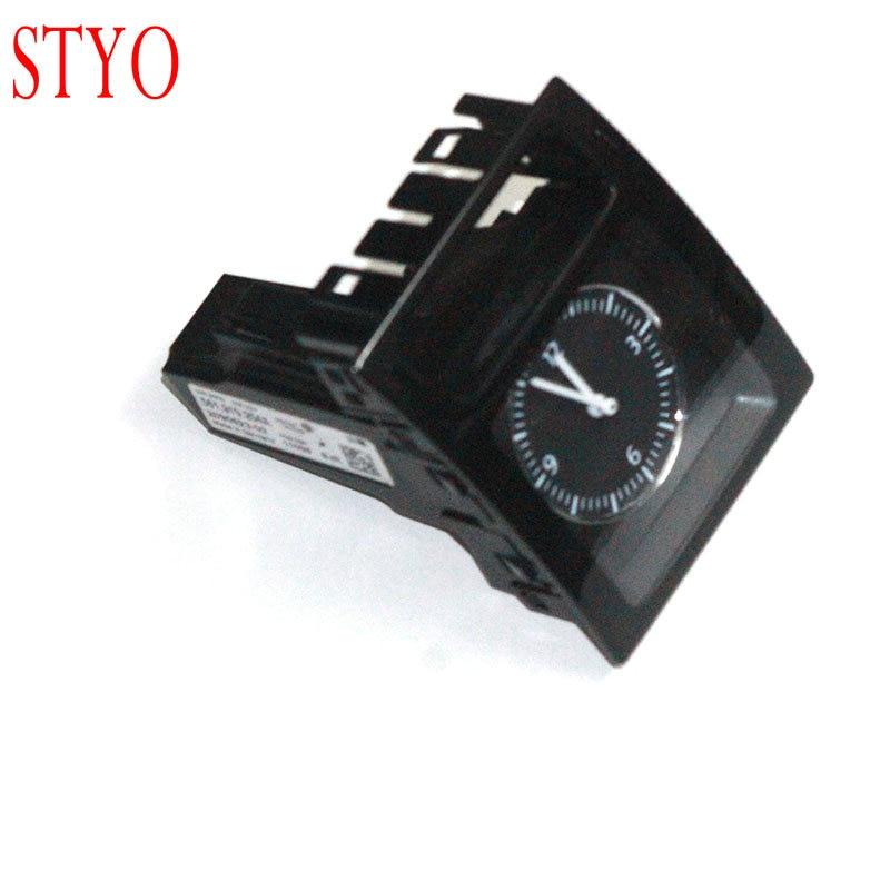 STYO Car Clock Dashboard Center Console Watch For VW Passat B7 561919204