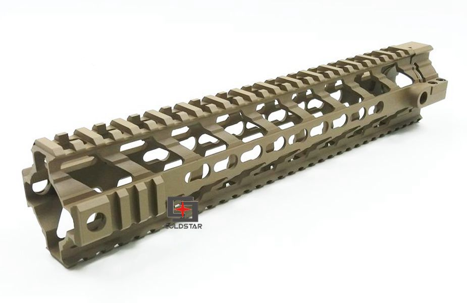 NEW 12 Ultra-light Weight Aluminum One Rail 12 inch Float Handguard Picatinny Quad Rail for AEG M4 M16 AR15 Air gun Gear hunting picatinny rail 4 25 inch handguard rail cqb tactical rail systems for aeg m4 m16