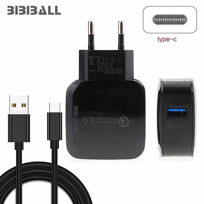 18W USB-C سريع شاحن تهمة ل huawei p20 لايت زميله 10 lg g7 g6 q8 ل xiaomi mi 8 فيفو NEX U mi ديجي Z2 برو شاحن سريع 3.0