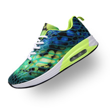 Купить с кэшбэком Spring 2019 new breathable student sports lovers shoes women's shoes Korean wave air cushion camouflage mesh casual mens shoes