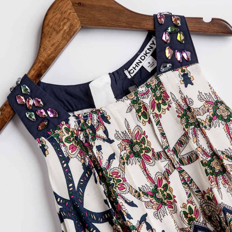676a17b37c07 ... Girls Summer Dress Bohemian Style Print Beach Dress Baby Girls Princess  Dress Kids Dresses For Girls ...