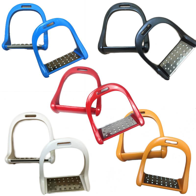 Aluminum Alloy Anti-skid Stirrup Horse Riding Stirrup Equestrian Pedal Saddle Accessories Safety Pedals